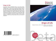 Bookcover of Origin of Life