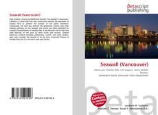 Buchcover von Seawall (Vancouver)