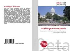 Обложка Washington Monument