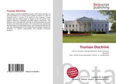 Bookcover of Truman Doctrine