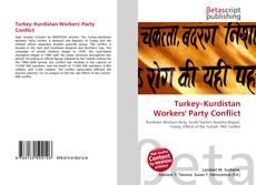 Bookcover of Turkey–Kurdistan Workers' Party Conflict