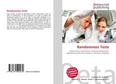 Bookcover of Randomness Tests