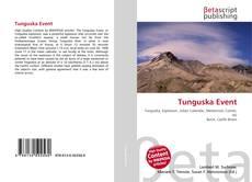 Couverture de Tunguska Event