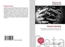 Buchcover von Shame Society