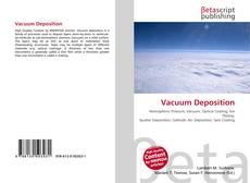 Vacuum Deposition kitap kapağı