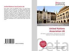 Bookcover of United Nations Association UK