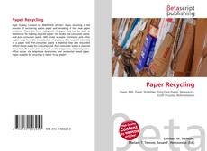 Couverture de Paper Recycling