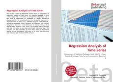 Bookcover of Regression Analysis of Time Series
