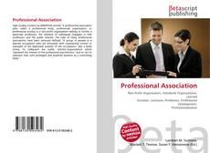 Обложка Professional Association