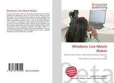 Bookcover of Windows Live Movie Maker