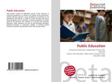 Bookcover of Public Education
