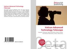Vatican Advanced Technology Telescope kitap kapağı