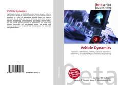 Couverture de Vehicle Dynamics