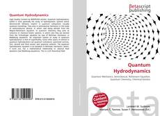 Bookcover of Quantum Hydrodynamics