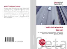 Bookcover of Vehicle Emissions Control