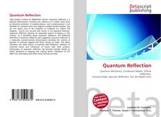 Bookcover of Quantum Reflection