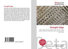 Bookcover of Straight Edge