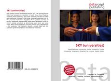 Bookcover of SKY (universities)