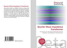 Borítókép a  Quarter Wave Impedance Transformer - hoz