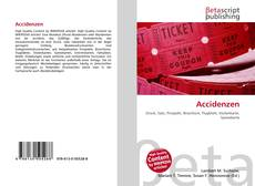 Bookcover of Accidenzen