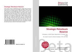 Strategic Petroleum Reserve kitap kapağı