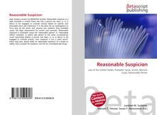 Bookcover of Reasonable Suspicion