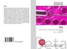 PCR kitap kapağı