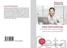 Couverture de Voice Call Continuity