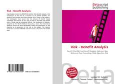 Couverture de Risk - Benefit Analysis