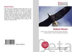 Bookcover of Robert Rosen