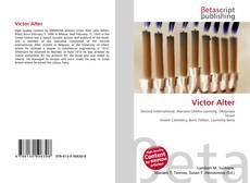 Victor Alter kitap kapağı
