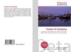 Copertina di Vosper & Company