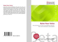 Bookcover of Raise Your Voice