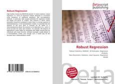 Bookcover of Robust Regression