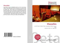 Capa do livro de Phonofilm