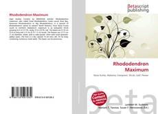 Обложка Rhododendron Maximum