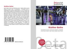 Bookcover of Walther Bothe