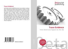 Bookcover of Trace Evidence