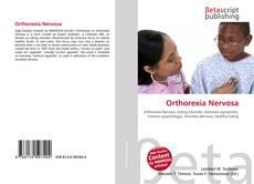 Bookcover of Orthorexia Nervosa