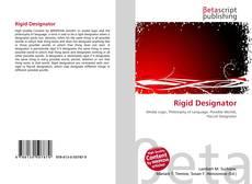 Обложка Rigid Designator