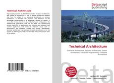 Couverture de Technical Architecture