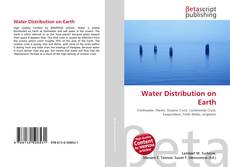 Bookcover of Water Distribution on Earth