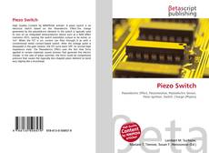Bookcover of Piezo Switch