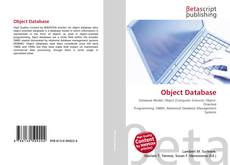 Bookcover of Object Database