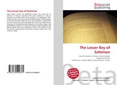 Bookcover of The Lesser Key of Solomon