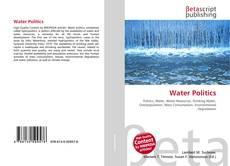 Bookcover of Water Politics