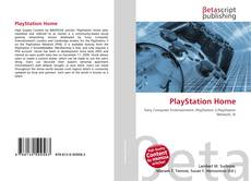 Buchcover von PlayStation Home
