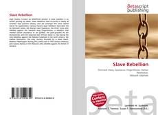 Bookcover of Slave Rebellion