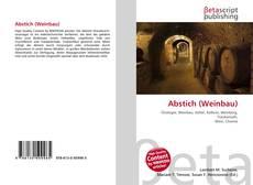 Buchcover von Abstich (Weinbau)