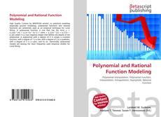 Portada del libro de Polynomial and Rational Function Modeling